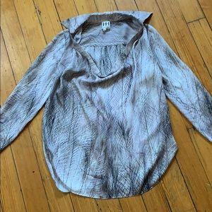 Haute Hippie 100% silk shirt